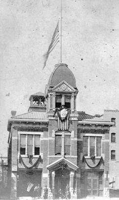 Old City Hall ~ Colorado Springs Colo ~ 1901