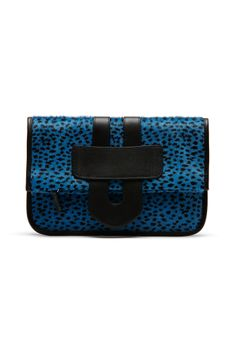 Tila March Photo: Courtesy of Tila MarchCategory spring 2014, Tila March, bags, clutches, black, animal print, blue