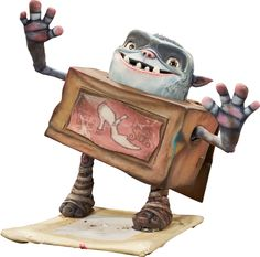 The Boxtrolls Shoe Original Animation Puppet (LAIKA, 2014).... | Lot #94187 | Heritage Auctions