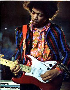 Fantastic picture of Jimi Hendrix