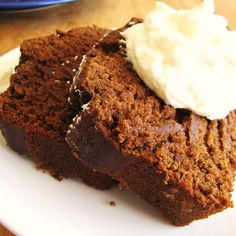 Super Moist Gingerbread Cake!  Gotta find out how to make this Gluten Free