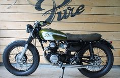 Projet n°6 - Pure Motorcycles - CB K5 125 1973