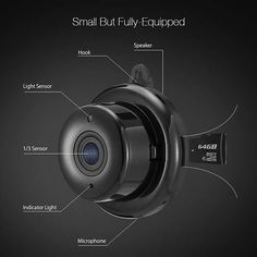 Using motion detection, night vision and two-way audio Digoo mini home security camera Digoo's mini home security camera not only monitors your home, but also a