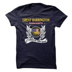 I Love GREAT BARRINGTON- Its Where My Story Begins! T-Shirts