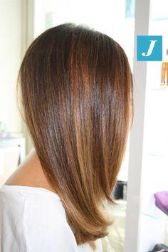 Ombre Hair, Balayage Hair, Pelo Color Caramelo, Medium Hair Styles, Curly Hair Styles, Caramel Hair, Hair Color And Cut, Pretty Hairstyles, Hairstyles 2018
