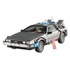 Back to the Future Elite 1:18 Scale Die-Cast DeLorean - Mattel - Back to the Future - Vehicles: Die-Cast at Entertainment Earth