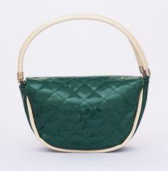 Emma Korean Bag, cantik fashionable. Bisa tali bahu dan tali panjang selempang. Keren. Warna hijau. Uk 28x9x17 (SKU: AADSBK) - Rp. 159.500 - Gaun Tas: Tas Wanita Impor