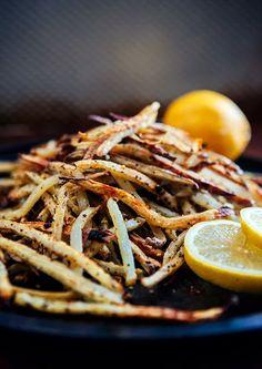 Baked Lemon Pepper French Fries - Some the Wiser