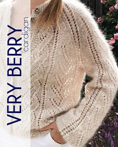 Ravelry: Very Berry Cardigan pattern by Tatiana Uluceviz Cardigan Pattern, Stitch Markers, Knitting Needles, Ravelry, Berry, Thighs, It Is Finished, Pullover, Lace