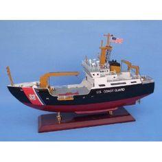 """USCG Bouy Tender 16"""" - USCG - Model Ship Wood Replica - Not a Model Kit (Toy)  http://www.howtogetfaster.co.uk/jenks.php?p=B0033DSW7Y  B0033DSW7Y"""