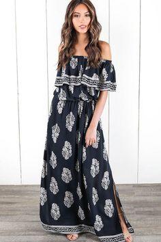 07a1d606638b5 1836 Best Maxi Dresses images in 2019 | Maxi dresses, Maxi skirts ...