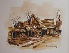 Kresby - Slovenské chalúpky - 258417 Painting, Art, Art Background, Painting Art, Kunst, Paintings, Performing Arts, Painted Canvas, Drawings