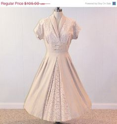 Incredible 1950s Party Dress