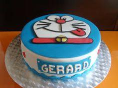 Resultat d'imatges de tartas doraemon Doraemon, Cake, Desserts, Food, Fondant Cakes, Deserts, Tailgate Desserts, Food Cakes, Eten