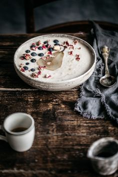 Cold Porridge With Chia Poached Pears   Anisa Sabet   The Macadames-456