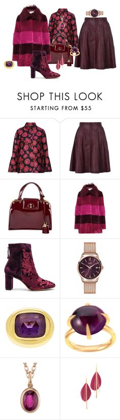 """""""Sylvia is coming tomorrow morning"""" by blujay1126 ❤ liked on Polyvore featuring Blugirl, George J. Love, Yves Saint Laurent, AINEA, Alexandre Birman, Henry London, Tiffany & Co., Pomellato, Irene Neuwirth and Serefina"""