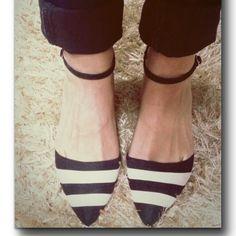 Black#white ♥ ♡ calzados el puerto