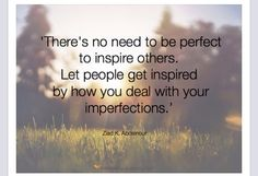 Let people be inspired
