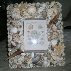 Sea shell frames go with any decor and make great gifts.