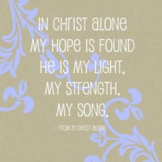 in christ alone all time favorite worship song