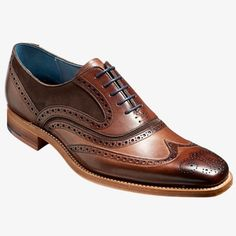 Up to off Barker shoes online now from Kular fashion with free UK delivery. Wingtip Shoes, Brogues, Shoe Boots, Shoes Sandals, Dress Shoes, Mens Essentials, Goodyear Welt, Groom Style, Paisley Pattern