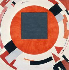 El Lissitzky, Proun, 1922-23