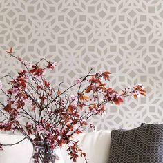 Kerala-stencil-indian-geometric-wall-pattern