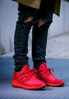 adidas Tubular Nova'Triple Red' (via Zupportrier)