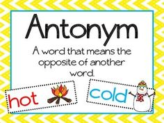 Vocabulary Posters by The LEAP Ladyz | Teachers Pay Teachers