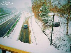 Winter in Deutschland, Marburg, الشتاء في ألمانيا