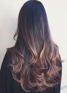 Light Chocolate Balayage Highlights