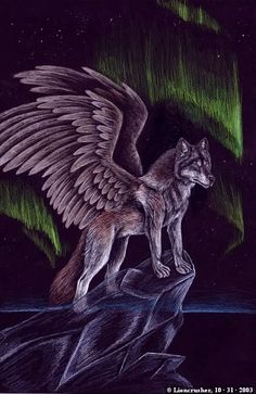 All Wolves with Wings | All Graphics » angel wolves