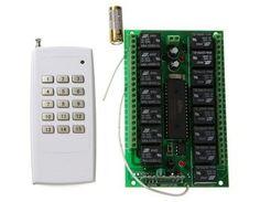 AK-RK15-12+AK1000-15 Wireless Remote Control Switch Board & Remote Control by QLPD. $68.90. This wireless remote control switch board & remote control is for home appliance.