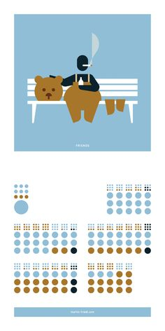 #pictograms #icon #graphicdesign #vector #vectorgraphics #illustration #calendar #calendar2017 #march #march2017 #friends #bear #welovebears
