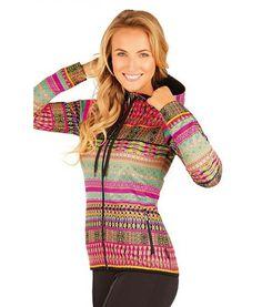 Litex Sportswear Dames jack met capuchon