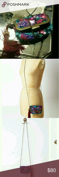 Dont miss it! Little bag crossbody Perfect for dinner and party super cute, new! Anthropologie Bags