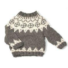 incredible Faroese sweater // alpaca, handknitted in Denmark by Mormor // via Orfeo, a Babiekins Magazine sponsor