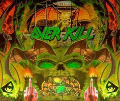 Overkill Band, Thrash Metal, Comic Books, Comics, Cover, Music, Art, Pictures, Musica