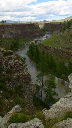 Gorge, Mongolia