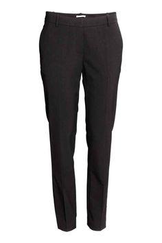 Костюмные брюки - Черный - Женщины | H&M RU