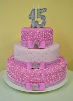 16th Birthday Cake For Girls, 15th Birthday Cakes, Sweet 16 Birthday Cake, Birthday Sheet Cakes, Elegant Birthday Cakes, Beautiful Birthday Cakes, Bolo Fack, Dummy Cake, Quince Cakes