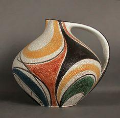 Ceramic Mid-Century vase – Ruscha Milano