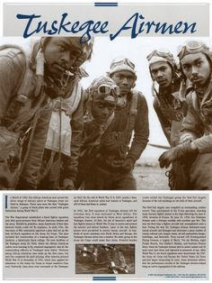 Tuskegee Airmen Poster by Knowledge Unlimited
