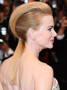 #Hair #NicoleKidman #Pomp-Pony www.hairadvisor.ca via (www.people.com)