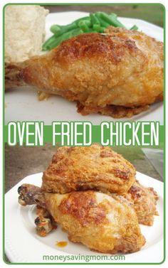 You have GOT to try this Oven Fried Chicken recipe. It was one of our favorites growing up!