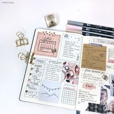 10 Unquestionable Reasons You Need To Start Keeping A Planner How To Bullet Journal, Bullet Journal Monthly Spread, Bullet Journal Layout, Bullet Journal Ideas Pages, Bullet Journal Inspiration, Art Journal Pages, Diary Planner, Weekly Planner, Planner Ideas