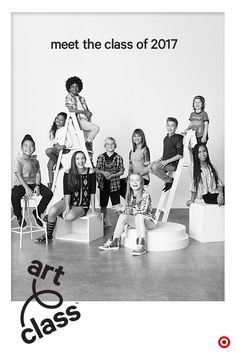 Introducing the designers behind Target's new kids fashion brand, Art Class. They know style is what you make it, so every piece they co-designed for Class of 2017 has their signature style. So get creative. Mix and match those dresses and jackets and jeans and sweatshirts. Then fall in love with the details that make each piece unique and extra fun. Welcome to Art Class, where style is what you make it. Only at Target.