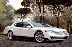 New Lincoln Continental Concept.  Now this is stylish.mama wishes!