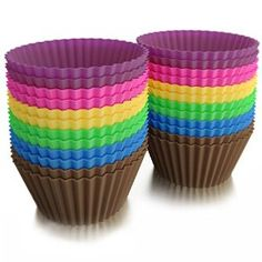 Love to bake? #Baketowngirls Silicone Baking Cups, a must have for every kitchen!