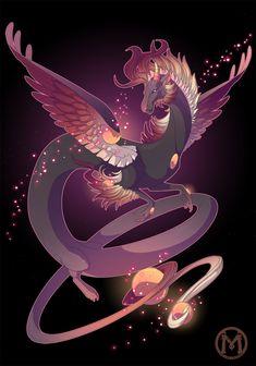 Dragon-A-Day 057 - Ember by Mythka